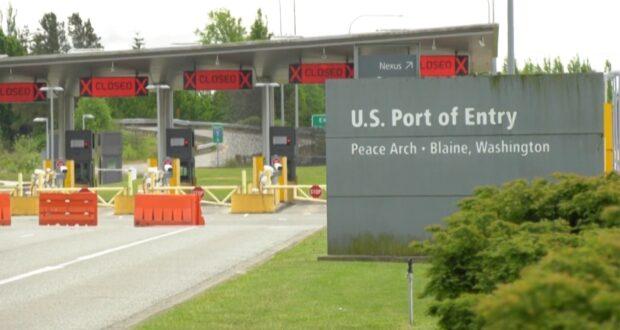 معظم المسارات في معبر قوس السلام الحدودي مغلقة.
