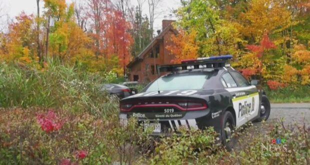 صورة لسيارة شرطة في مونتريال