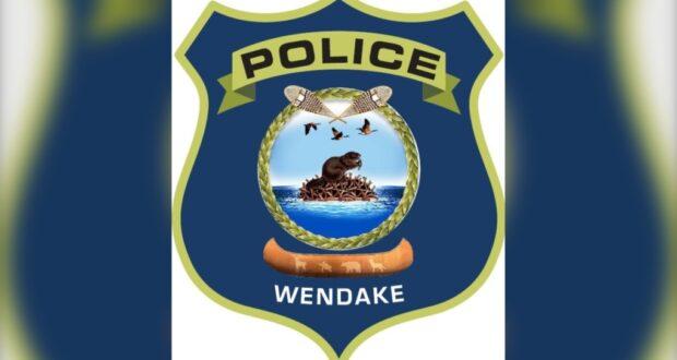 صورة لشعار شرطة وينداكي حيث صرحت شرطة كيبيك بأنها ألقت القبض على مشتبه بعد العثور طفلين ميتين في وينداكي