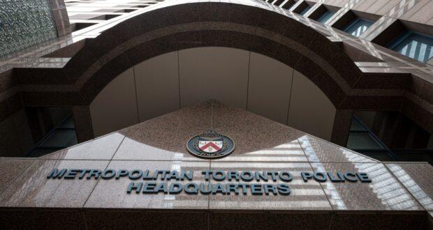 صورة لمركز شرطه في تورنتو بعد تهدادات المسجد