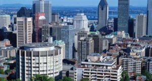 صورة للابنية في مونتريال