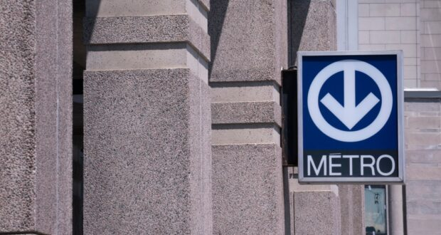 علامة مترو مونتريال