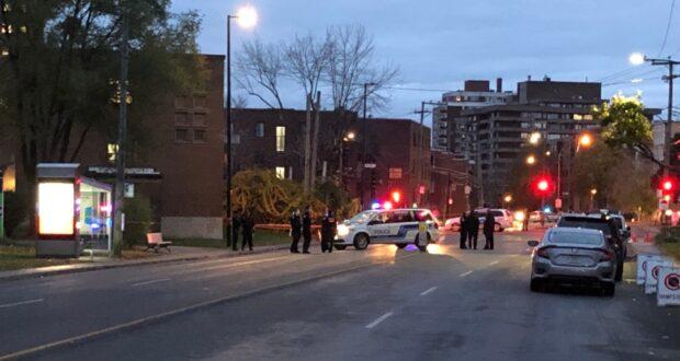 صورة للشرطة بعد اصدار هيئة الرقابة تحقق مع شرطة مونتريال بعد اطلاقهم النار على رجل يحمل سكيناً وقتله