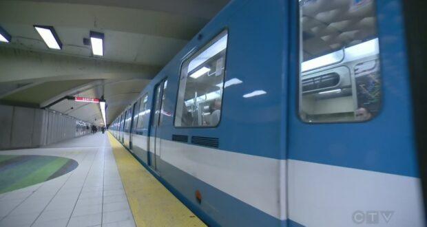 صورة للمترو بعد اعلان هيئة النقل في مونتريال: فيروس كمبيوتر يتسبب في تعطل منصاتها عبر الإنترنت