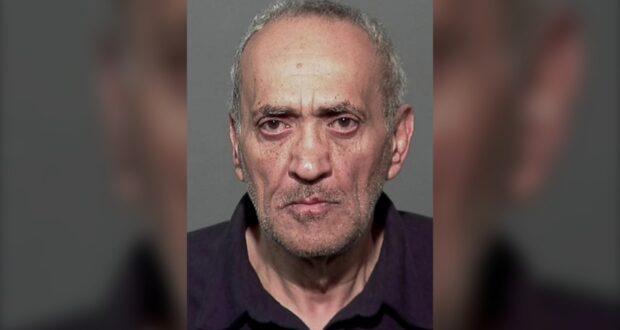 صورة لأشرف طه عوض ، 61 سنة حيث أن شرطة مونتريال تطلب المساعدة في العثور المشتبه به في اقتحام مسجد