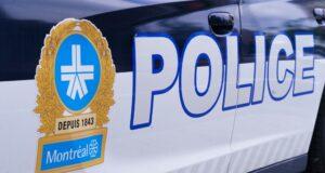 يظهر شعار شرطة مونتريال على سيارة للشرطة في مونتريال يوم الأربعاء ، 8 يوليو ، 2020. الصحافة الكندية / بول شياسون