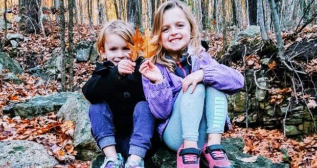 صورة لطفلتين لقيا حتيفهم في حريق، حيث جثتان تم إنتشالهم بعد أن دمر حريق منزل في لابيتش في كيبيك