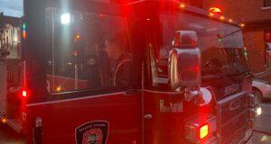 صورة لسيارة اطفاء حريق حيث حريق متعمد في سنودون في وقت مبكر من صباح الأربعاء لم يترك أي ضرر