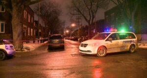 صورة لموقع حادث الاعتداء الذي ادى لاصابة مراهقان حيث مراهقان من مونتريال في المستشفى مصابين بجروح طفيفة بعد حادثة اعتداء على البلاتو